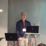Graham Armfield speaking at London WordPress