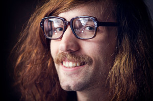 a nerdy guy