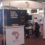 the dotAfrica stand at GlobalINET, Geneva