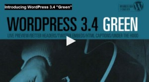 wordpress 3.4 logo