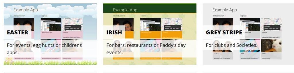 ZipApp templates