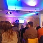 Graham Armfield at April Meetup