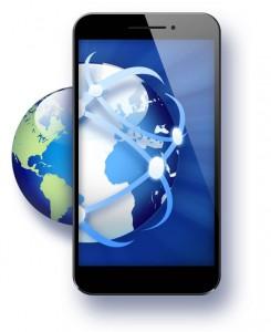 smartphone-with-globe