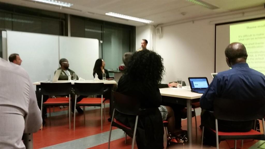 WordPress London User Group meetup 22nd September 2015
