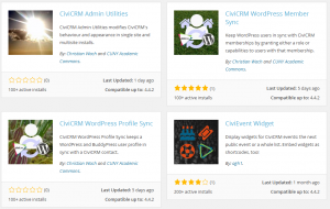 WP plugins for CiviCRM