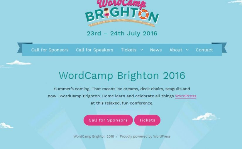 WordCamp comes to Brighton