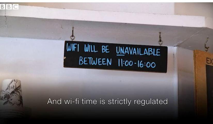 Coffee Shop Wi-Fi – balancing demand