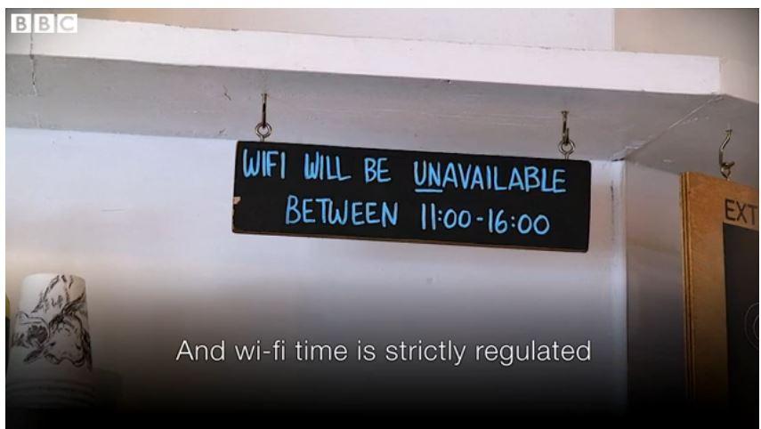 Limit Wi-fi access time